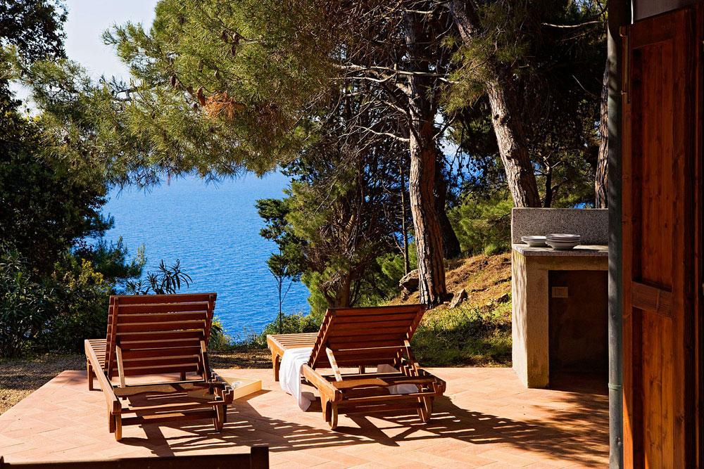 strand ferienhaus auf elba bei capoliveri versteckte toskana. Black Bedroom Furniture Sets. Home Design Ideas