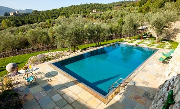 Toscana Luxus Ferienhaus mit 6 Schlafz./Pool in Montespertoli